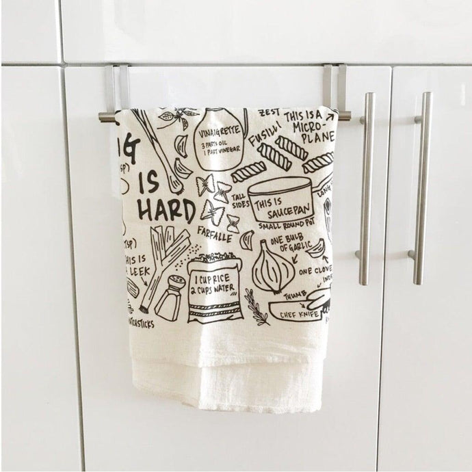 Cooking Is Hard Tea Towel Uni-T