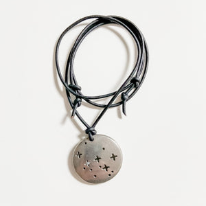 Cassiopeia Constellation Necklace