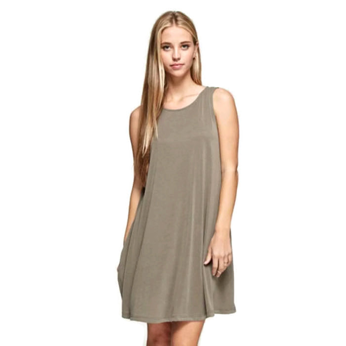 Trapeze Shift Dress : LIMITED Uni-T