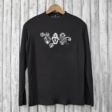 See No Evil Hear No Evil Speak No Evil Long Sleeve T-shirts for Men Uni-T