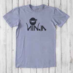 NINJA T-shirts | Men's Funny Graphic Tee | Eco-Friendly Clothing