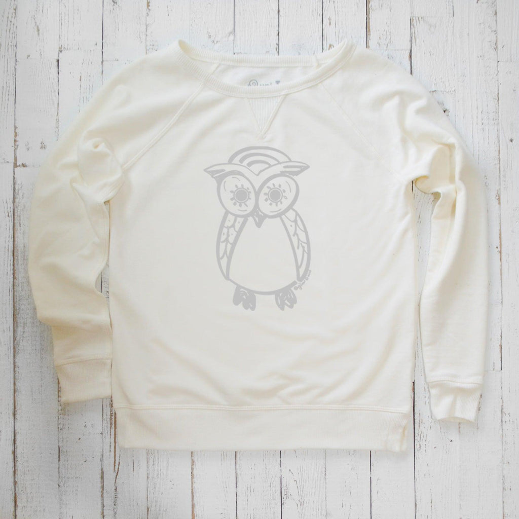 Owl French Terry Sweatshirt : Limited Uni-T