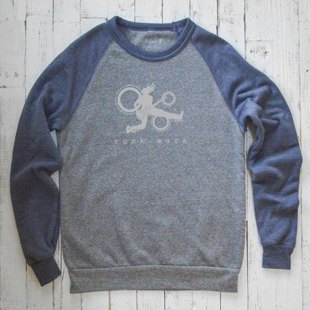 Rock More Raglan Sweatshirt Uni-T