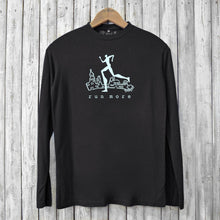 Run More, Long Sleeve T-shirts for Men Uni-T