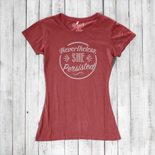 NEVERTHELESS, SHE PERSISTED Shirt | Anti Trump Shirt | feminist Shirt