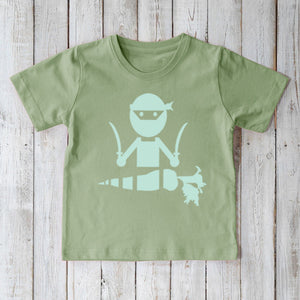 Ninja T-shirt for Kids | Organic Children's Clothing | Kids Clothes