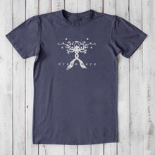 Typography T Shirt | Mens Bamboo Organic Cotton Tee | Tree Tshirt