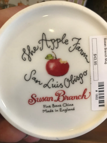 Susan Branch Apples Mug