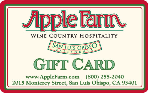 Apple Farm Gift Card