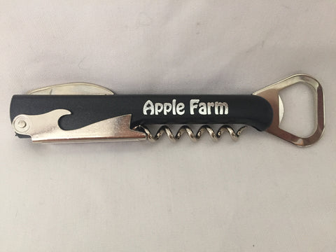 Apple Farm Wine Bottle Opener