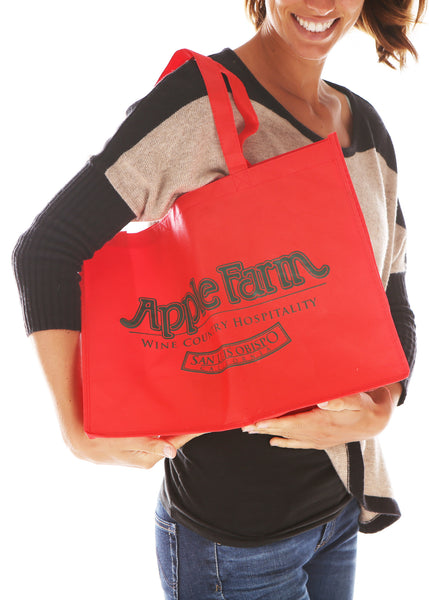 Apple Farm Reusable Shopping Bag
