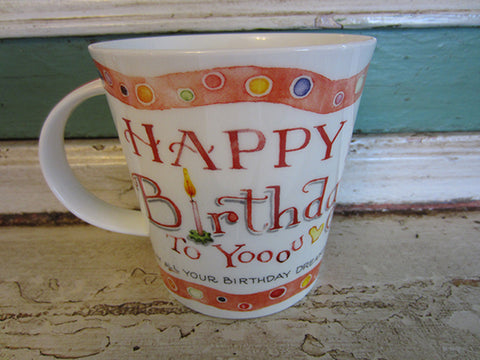 *NEW* Susan Branch Happy Birthday Mug