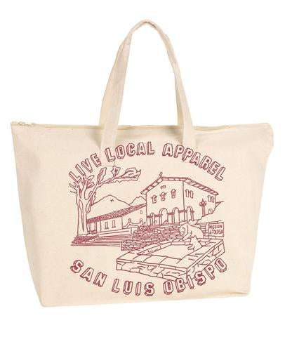 San Luis Obispo Mission Tote Bag