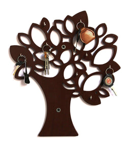 Tree Key Wall Holder || Wooden Key Holder || Decorative Key Hanger - Decorstore.in