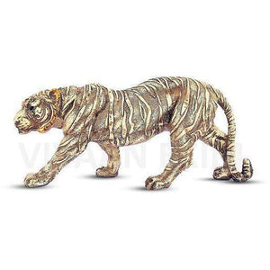 Polyresin Tiger Statue for Home Decor , Showpiece Antique Finish for decoration Decorstore.in
