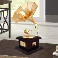 Load image into Gallery viewer, Handmade Vintage Dummy Gramophone Showpiece For Home Decor