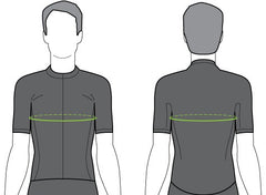 Cycling Jersey Sizing Diagram