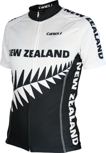 Women's New Zealand Cycling Jersey