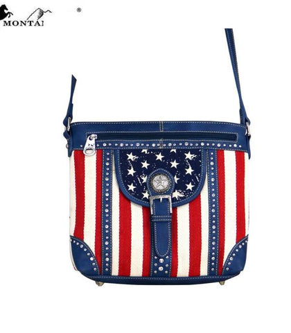 Montana West American Pride Collection Messenger Bag