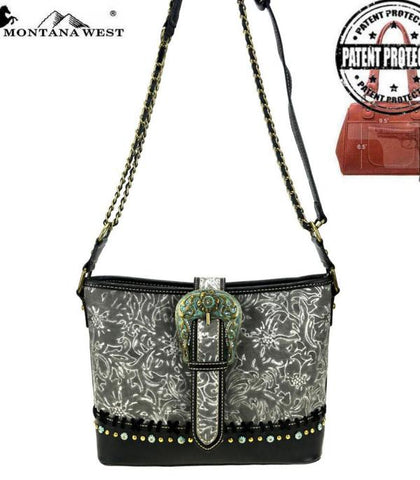 Montana West Buckle Collection Concealed Carry Shoulder/Crossbody