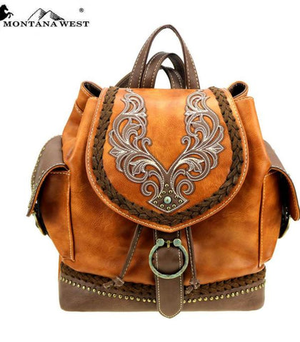 Montana West Western Backpack