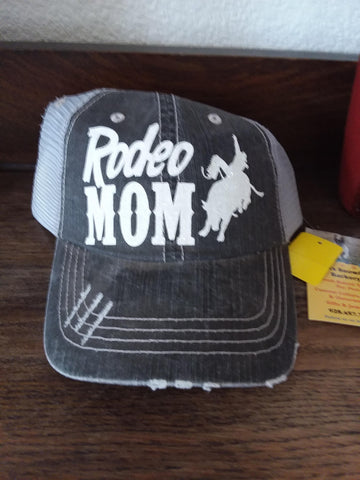Rodeo Mom Ball Cap Hat