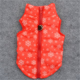 Snowflake, Darling Zip Back Poof Vest