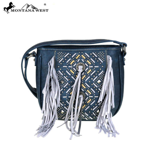 Montana West Fringe Collection Crossbody Bag