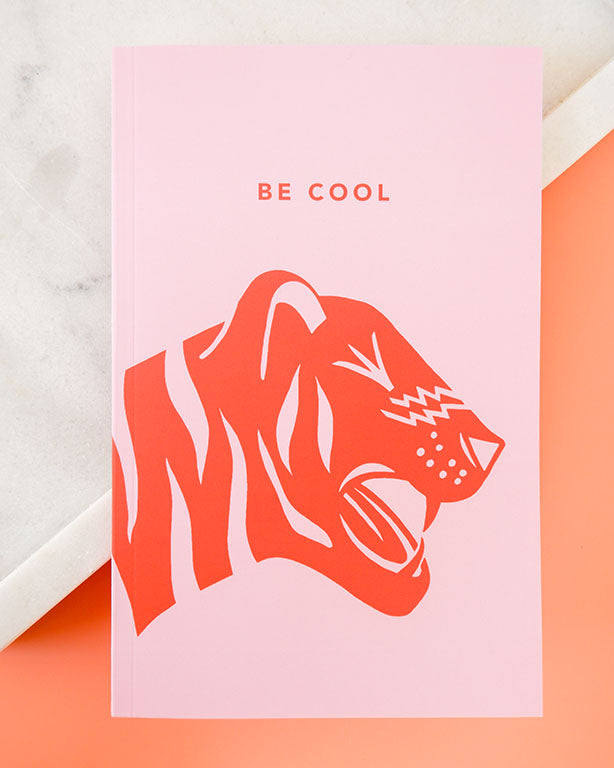 Be Cool Softcover Notebook