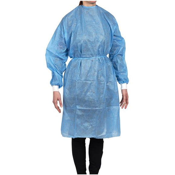 Maytex Isolation Gown w/ Knit Cuff