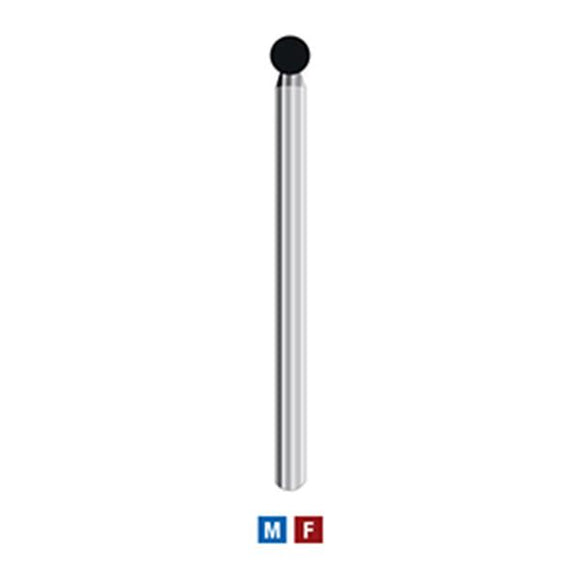 001/017LP | (801LP) 10-pk Long/Surgical with Medium Round Ball
