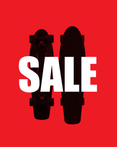 SELECTED SKATEBOARDS ON SALE NOW!