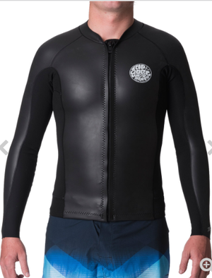 Ripcurl Aggrolite 1.5mm Long Sleeve Front Zip Wetsuit Jacket