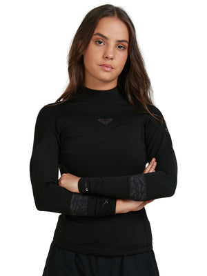 ROXY SYNCRO 1MM LONG SLEEVE WETSUIT TOP