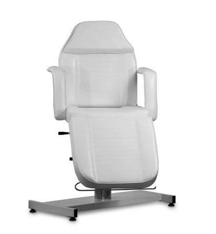 USA Salon & Spa Abro White Stationary Massage Table 2207