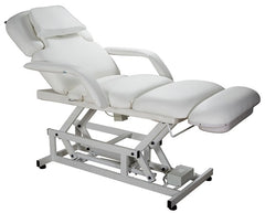 USA Salon & Spa Touch White Electric Lift Massage Table 2233