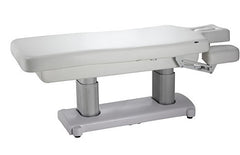 USA Salon & Spa Ocili White Stationary Massage Table 2249