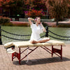 "Image of Master Massage Caribbean/Vista 28"" Therma Top Portable Massage Table Package 20236"