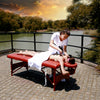 "Image of Master Massage Fairlane 28"" Therma Top Portable Massage Table Package 26283"