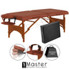 "Image of Master Massage Fairlane 28"" Portable Massage Table Package 26263"
