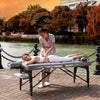 "Image of Master Massage Montour 30"" Memory Foam Portable Massage Table Package 28259"