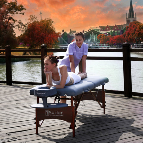 "Master Massage Newport 30"" Portable Massage Table Package"