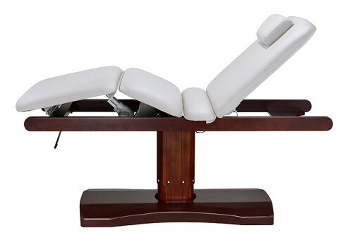 USA Salon & Spa Ceda White Electric Lift Massage Table 2238TB