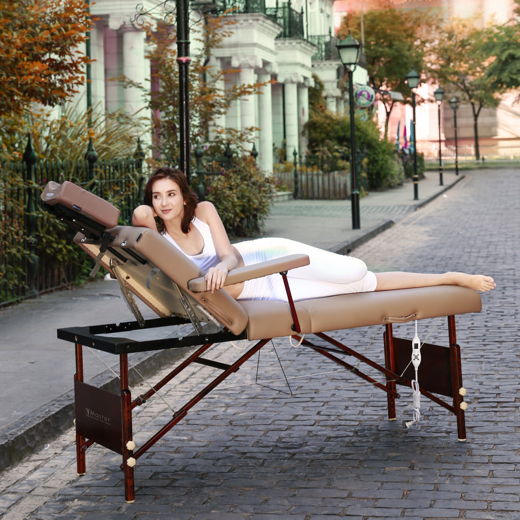 "Master Massage Del Ray Salon 30"" Therma Top Portable Massage Table Package 28291"