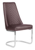 Image of Whale Spa Customer Stain-Resistant Chair Chevron 8110| Tempo Collection