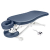 "Image of Master Massage TheraMaster Flat 29"" Royal Blue Electric Lift Massage Table 10136"