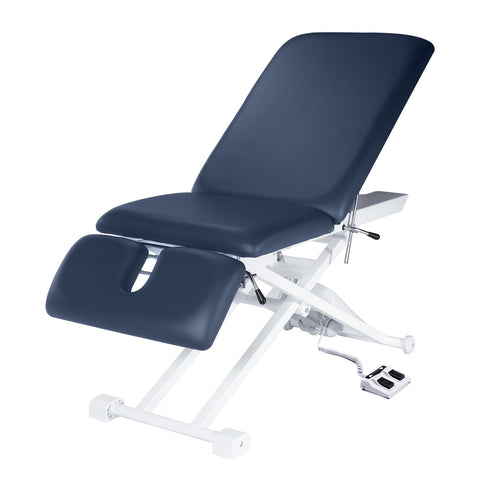 "Master Massage TheraMaster 3 Section 29"" Royal Blue Electric Lift Massage Table 10138"