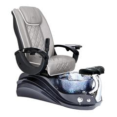 Whale Spa Crane Italian Leather Pedicure Chair