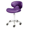 Image of Whale Spa Chevron Chemical Resistant Technician Stool 1010H | Tempo Collection