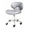 Image of Whale Spa Chevron Chemical Resistant Pedicure Stool 1010L | Tempo Collection